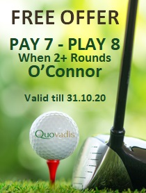 1 Free Golfer in 8 offer at Amendoeira O Connor